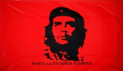 CHE GUEVARA (RED) - 5 X 3 FLAG